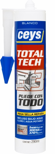 ADHESIVO SELLADOR POLIM BL TOTAL TECH XPRESS CEYS 290 ML